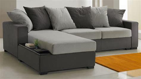 canapé d 39 angle pas cher canapé italien tissu gris