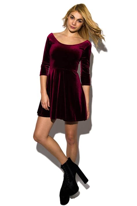 green flare dress velvet skater dress dressed up