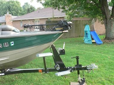 Boat Trailer Mounted Steps by Ordering Information