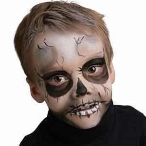 Maquillage Squelette Facile : grimtout maquillage halloween squelette ~ Dode.kayakingforconservation.com Idées de Décoration