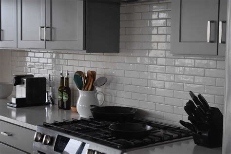 kitchen backsplash walker zanger gramercy park subway tile