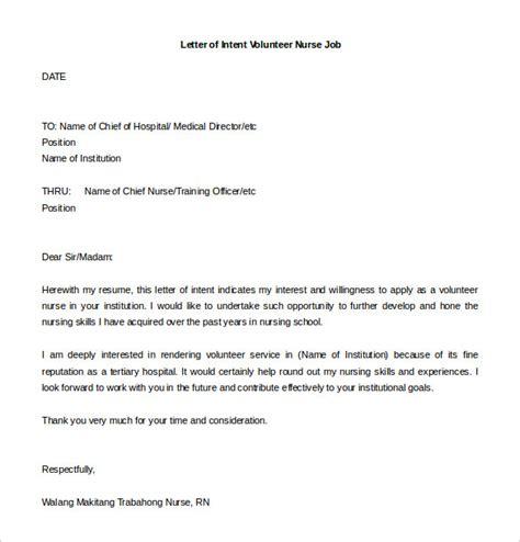 letter  intent   job templates