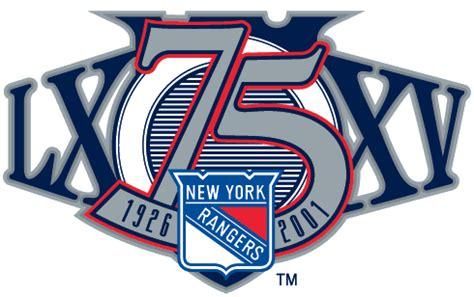 nyr  anniversary logo   leaked logo rangers