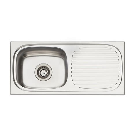 kitchen sink bunnings oliveri 740 x 350mm 3 4 bowl martini inset sink bunnings 2597
