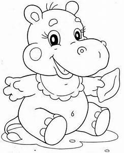 Ausmalbilder Von Baby Tieren Lustige Ausmalbilder