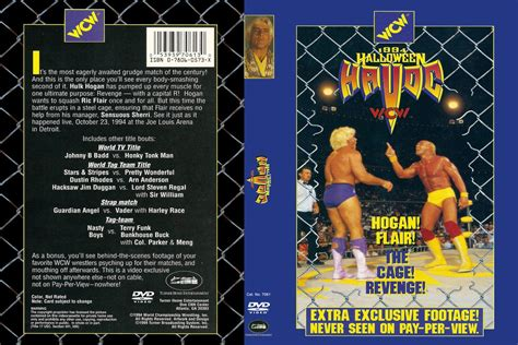 Wcw Halloween Havoc 1991 by Nwa Wcw Pay Per View