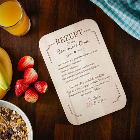 individuell graviertes fruehstuecksbrettchen oma rezept