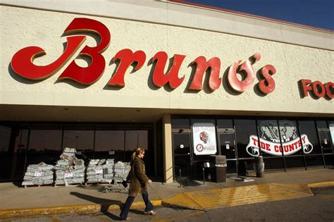 brunos supermarkets files  bankruptcy business