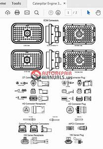 Caterpillar Engine 3126b 3126e Renr1368-05 Wiring Diagram