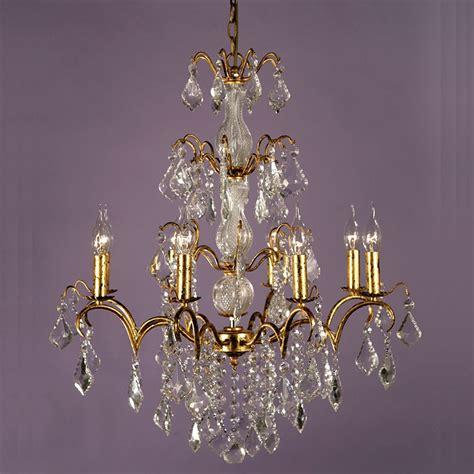 Vintage Style Chandelier by Vintage Gold Antique Style Chandelier