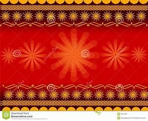 Rangoli design stock illustration. Illustration of ...