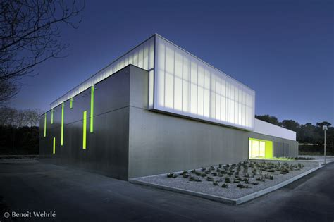 Gymnase Clapiers  Mdr Architectes Archdaily