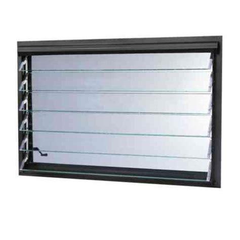 tafco windows      jalousie utility louver aluminum window bronze jalb