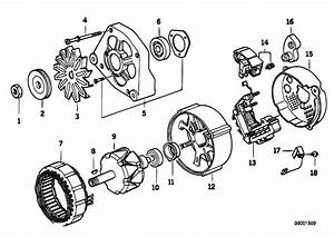 Original Parts For E36 318i M40 Sedan    Engine Electrical System   Alternator Individual Parts