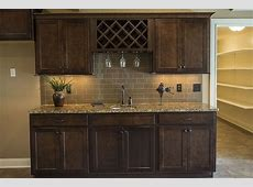 Wet Bar Hansman Custom Homes