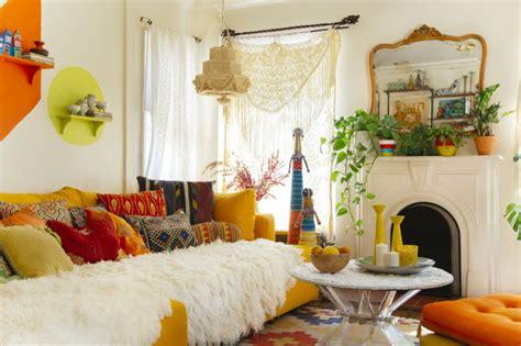 canapé lit vintage style bohème chic nos astuces de déco réussie