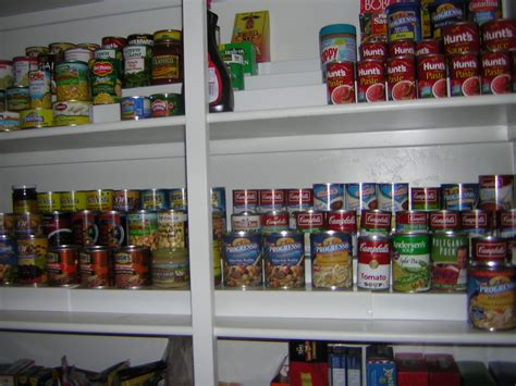 Three Sure-fire Ways To Organize The Canned Goods In Your
