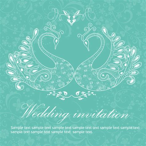 invitation card background landscape wedding invitation