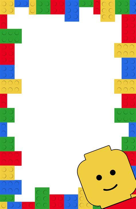lego template free printable lego birthday invitation template paper trail design
