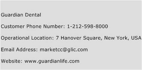 This type of plan is strong, however, as you would know what your. Guardian Dental Number   Guardian Dental Customer Service ...