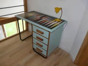 le bureau vintage ancien bureau de maitre vintage revisité green vintage