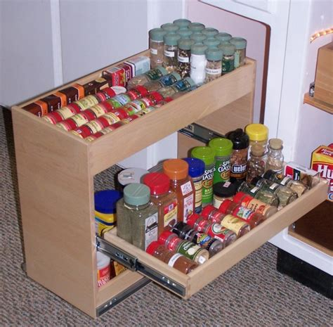 Pull Out Spice Rack by Pull Out Spice Rack Kitchen Dc Metro By Shelfgenie