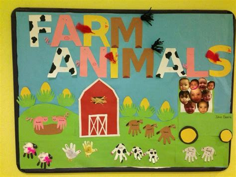 farm animals bulletin board teaching farm bulletin 294 | 27e98ccd6c329332b857664da6488b84
