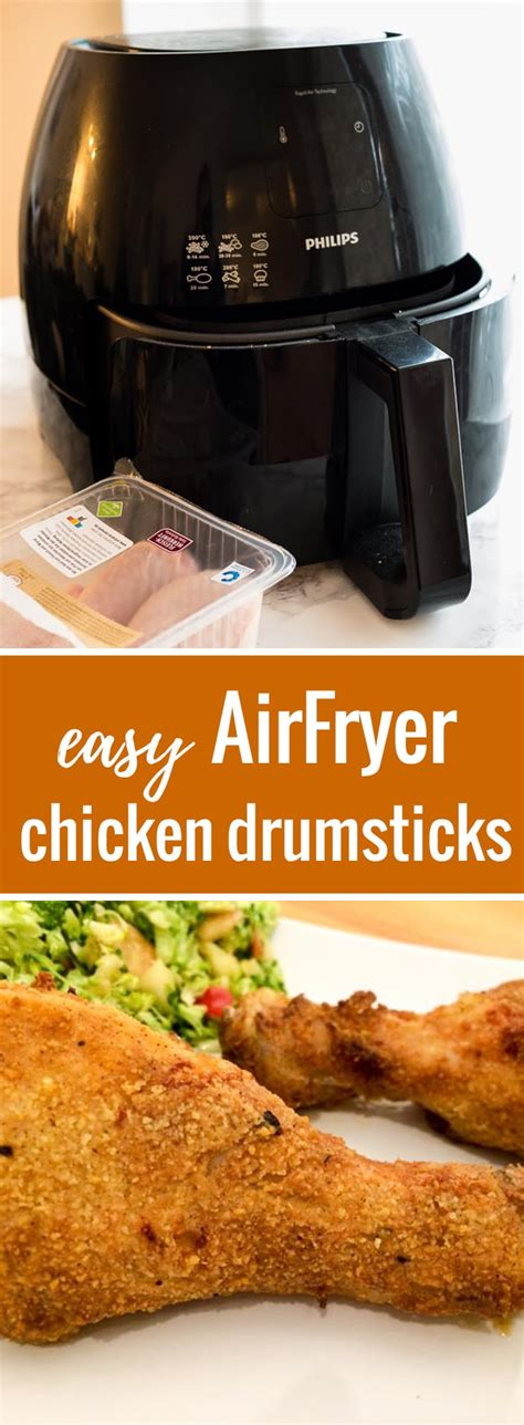 chicken airfryer fryer air drumsticks fried recipe recipes leg easy philips legs drumstick crispy platedcravings plated butter juicy thighs frying