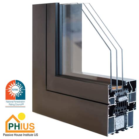 aluminum triple pane windows