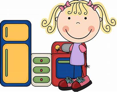 Housekeeping Clipart Clip Preschool Center Centers Projects