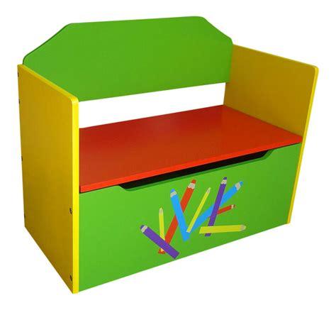 boys girls pencil crayon kids childrens wooden toy box