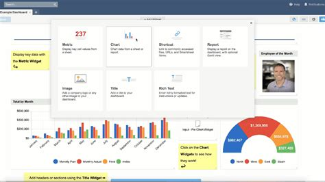 Smartsheet Updates Dashboard Charts With Enhancements