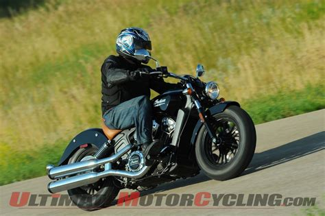 Review Indian Scout by 2015 Indian Scout Review Ride