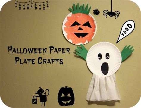 paper plate ghost paper plates paper plate crafts and plate crafts on 2636