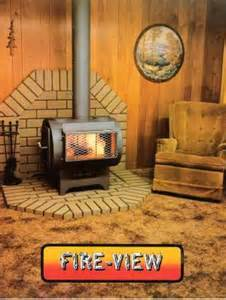 fire view wood heater model  thomas
