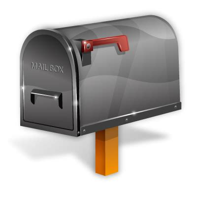 mailbox icon transparent vista by iconshock
