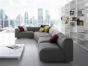 13 modeles canape d39angle de design elegant With tapis peau de vache avec canapé d angle 5 places