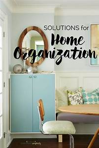 Simple, Solutions, For, Home, Organization