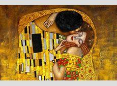 Gustav Klimt the Kiss Wall Mural MuralsWallpapercouk