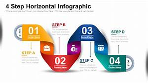 Free 4 Step Infographic Diagram For Powerpoint
