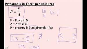 Htpib13c Pressure  Force  Area