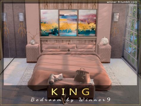 sims resource king bedroom  winner sims  downloads