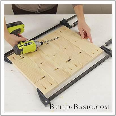 Table Diy Side Build Basic Hole Pocket