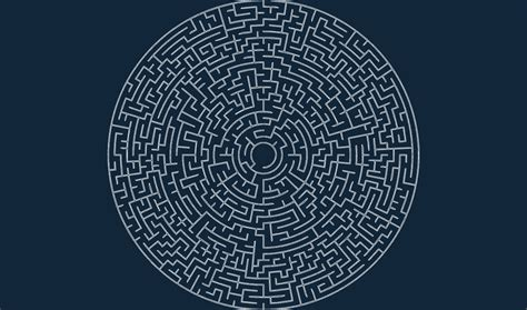circular maze  odxf   axisco