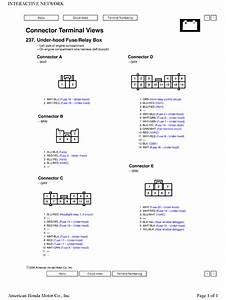 I Need The Wiring Diagram Of Underhood Fuse Relay Box Jhlrd 78905c012794  U00e2 U20ac U201c Crv 2005