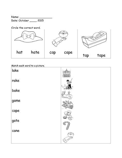 worksheet grade 1 vowels a for