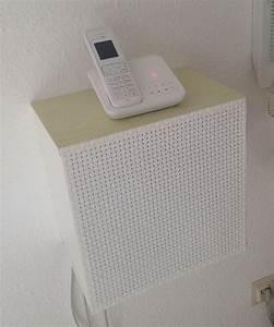 Regal Für Telefon Und Router : diy telefon schrank aus ikea wandregal diy pinterest schrank wandregal und regal ~ Buech-reservation.com Haus und Dekorationen