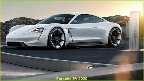 Porsche Ev 2020  New 2020 Porsche Ev Sedan Interior