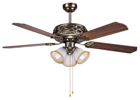 Ceiling Fan Pull Chain Broken by Hton Bay Bronze Ceiling Fan Light 52 Quot With Manual Pull