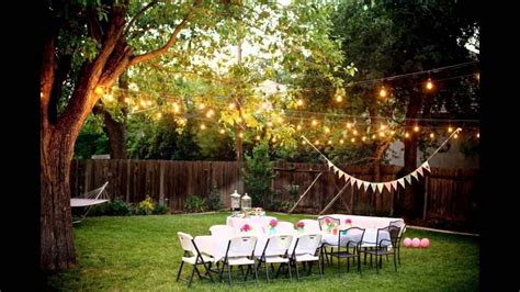 Wedding Reception In Backyard by Backyard Weddings On A Budget